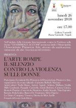 Mostra d'arte, danza e musica alla Galleria Vanvitelli con Ilva Primavera per dire no alla violenza sulle donne