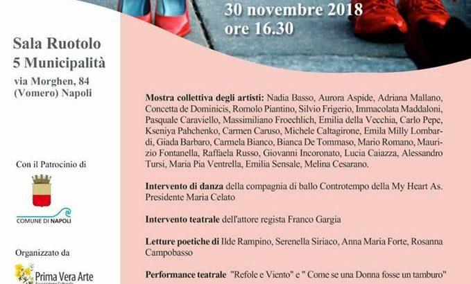 Il 30 novembre al Vomero con Ilva Primavera arte, danza e poesia per dire no alla violenza sulle donne