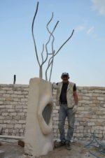Antonio Manfredi e la scultura dedicata a Regeni