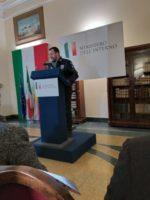 Il Ministro Salvini oggi al Municipio di Afragola