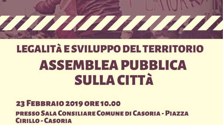 Assemblea pubblica sulla città di Libera Contro le Mafie Afragola-Casoria