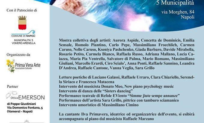'Noi Donne nell'Universo', un evento di arte varia al Vomero dedicato all'universo femminile