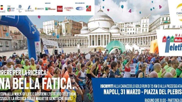 La Caracciolo Gold Run 2019 e la Walk of Life