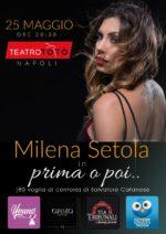 """"""" 80 voglia di cantare"""", lo spettacolo di Milena Setola al Teatro Totò."""