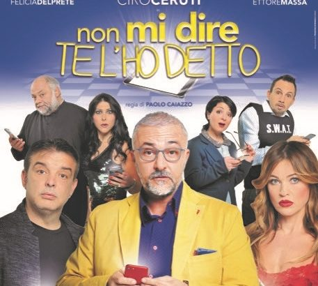 Paolo Caiazzo in «Non mi dire te l'ho detto»