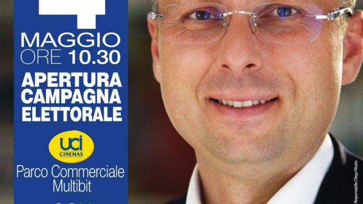 Raffaele Bene, sindaco.