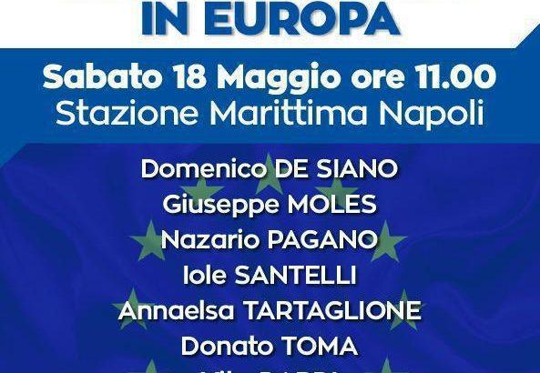 Con Berlusconi in Europa.