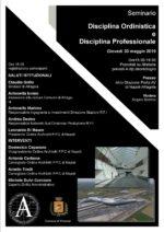 Seminario Ordinistica e Professionale.