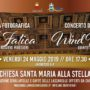 Alla Stella evento musicale con il quintetto di fiati Wind Brass Quintet e inaugurazione mostra fotografica ' 'A fatica '