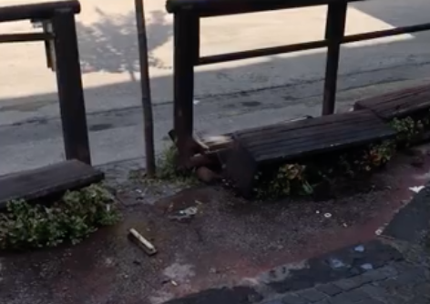 Atti di vandalismo a Casoria