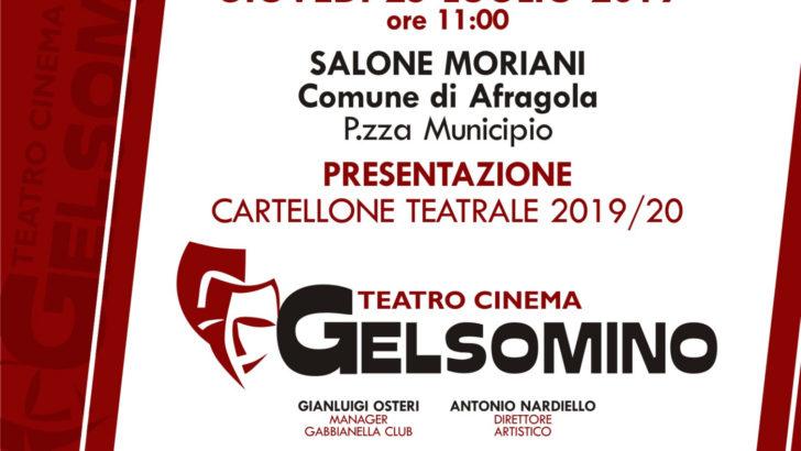 Teatro Gelsomino: presentazione cartellone teatrale 2019/20