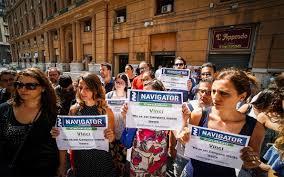 Manifestazione Navigator Campania
