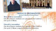 Quinto Anniversario della  Canonizzazione di San Ludovico da Casoria