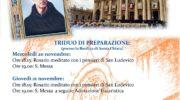 5° Anniversario della Canonizzazione di San Ludovico da Casoria