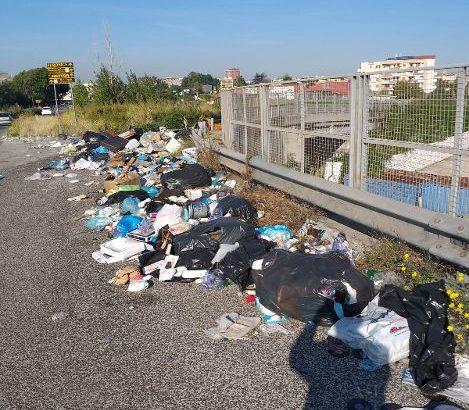 """Rifiuti, Borrelli (Verdi): """"Bomba ecologica presso la Circumvallazione esterna di Napoli."""