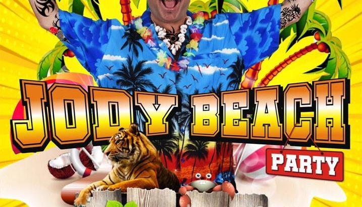 "Peppe Iodice in ""Jody Beach Party"""