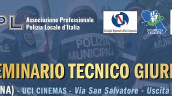 XIII Seminario Tecnico Giuridico. Riservato Operatori di Polizia – Casoria (NA) – 24 e 25 gennaio 2020