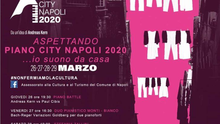 """""""Aspettando Napoli Piano City 2020…io suono da casa"""", Genny Basso in diretta Facebook"""