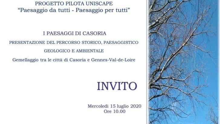 PROGETTO PILOTA UNISCAPE- I PAESAGGI DI CASORIA