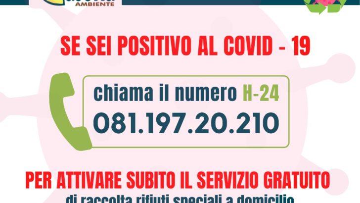 Casoria Ambiente attiva un numero dedicato per l'emergenza Covid-19