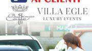 Villa Egle, da domani il servizio Drive-in food and drink