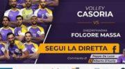 Il Volley Casoria affronta la Folgore Massa